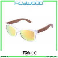 Wholesale 2016 OEM bamboo wood arms sunglasses 2016 cheap wholesale sunglasses China custom logo crystal sunglasses from china suppliers
