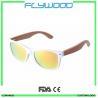 Buy cheap 2016 OEM bamboo wood arms sunglasses 2016 cheap wholesale sunglasses China custom logo crystal sunglasses from wholesalers