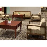 Wholesale Island Resort Country Lobby Wood Frame Rattan Sofa Set With Cushion from china suppliers