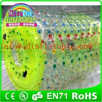 Wholesale Inflatable water toy inflatable water game inflatable roller ball inflatable water roller from china suppliers