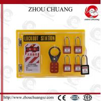 Quality Useful Combination Safety Durable Steel Colorful  Lockout Station for sale