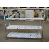 Wholesale Industrial Heavy Duty Stainless Steel Storage Shelves , 5 Feet Long Open Metal Shelving from china suppliers