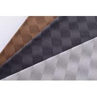 Quality Two Tone Three Dimensional Upholstery Textured Velvet Fabric For Car Interior for sale