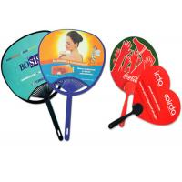 Buy cheap Personalized PVC Plastic Products , Promotional Hand Held Fans Custom Die Cut from wholesalers