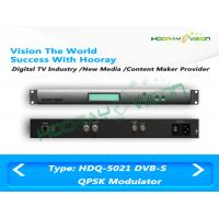 Wholesale QPSK DVB-S Modulator Anti - Jamming 50Ω F Type Output 1.5M - 45Mps Symbol Rate from china suppliers