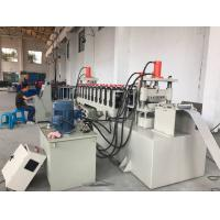Quality 12 Stations PLC Control Cable Tray Cover Roll Forming Machine 10-15m/min for sale