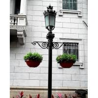 Quality 12m lamp pole, galvanized street lighting poles for sale
