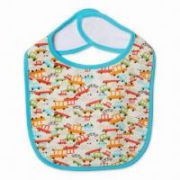Wholesale Baby's Bib, Water-resistant, Available in Various Designs and Sizes from china suppliers