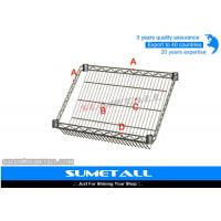 Wholesale Commercial Wire Shelving Chrome Storage Racks For Display Brochure / Catalogue from china suppliers
