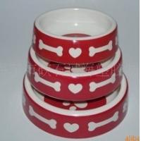 Wholesale Melamine pet bowl,dog bowl with printing from china suppliers
