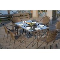 Wholesale All Weather Deep Seating Outdoor Furniture / Wicker Lawn Furniture For Dining from china suppliers