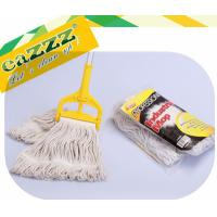 Wholesale Natural Dust Head Cotton Wet Mop / Super Absorbent industrial dust mop from china suppliers