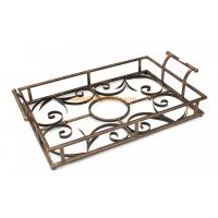 Wholesale Quality assured custom designed different color decorative metal serving tray wholesale from china suppliers