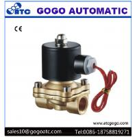 "Wholesale 110V AC Brass Air Gas Water Solenoid Valve Direct Drive Type G1/8"" - G2"" Port Size from china suppliers"