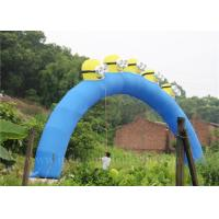 Wholesale Large Minion Inflatable Arch Event Promotional Inflatable Cartoon Arch from china suppliers