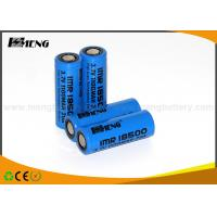 Wholesale MENG 18500 3.7v 1100mah 20A Lithium Rechargeable Batteries With Flat Top from china suppliers