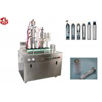 Wholesale Bag On Valve Aerosol Filling Machine For Shower Gels / Shaving Gels / Shaving Foam from china suppliers