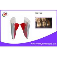 Wholesale Waterproof Retractable Pedestrian Flap Barrier Gate With Led Direction Indicator from china suppliers