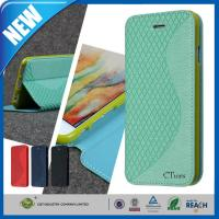 """Wholesale Elegant PU Leather Smartphone Case Folio Stand Flip Cover For Iphone 6 4.7"""" from china suppliers"""