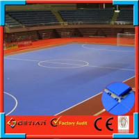 Wholesale PP Square Interlocking Gym Flooring Resilient Removable from china suppliers