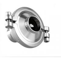 "Wholesale Check Valve Sanitary Stainless Steel Valves 1"" - 6"" 10 Bar Pressure for Beverage Line from china suppliers"