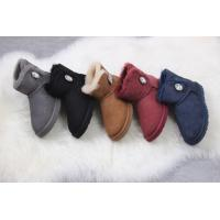 Wholesale ugg female shoes UGG 1003889 low tube crystal buckle fur one from china suppliers