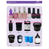 Buy cheap Mercahv 100 Colors 5kg Package nail UV led Gel Polish nail art from wholesalers