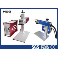 Quality Red Color Portable Fiber Laser Marking Machine For Rotating Marking Ring for sale