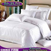 Wholesale OEM 3cm Stripes Design 250TC-330TC 100% Cotton Hotel Bedding Sets from china suppliers