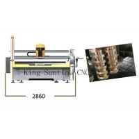 Buy cheap Automatic Sharpening Device Fabric Pattern Cutting Machine 7 KPS Air Pressure from wholesalers