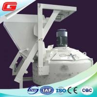 Quality Middle Capacity 750 L White Concrete Planetary Mixer With Lift / Cement Scale for sale