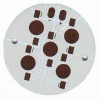 Wholesale High Quality LED Aluminium PCB Manufacturer with 0.10mm Minimum Trace Width from china suppliers