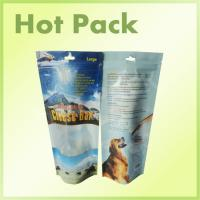 Wholesale Different Sizes Zipper Stand Up Packaging Pouch , Polystyrene Cat Food Packaging from china suppliers