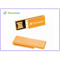 Wholesale Super Mini Orange USB Flash Drive 64GB 32GB 16GB 8GB 4GB Pen Drive usb 2.0 memory stick U disk for school gift from china suppliers