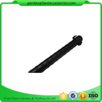 Wholesale 8mm Green Steel Garden Stakes , Metal Garden Flowers Stakes PE Plastic Coated from china suppliers