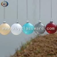 Wholesale Colored glass christmas ornment from china suppliers