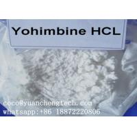 Wholesale Yohimbina Popular Sex Enhancer Steroid Yohimbine HCl Supplement White Crystalline Powder from china suppliers
