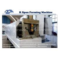 Wholesale 0.8-1.5MM Thickness PPGI,GI,Color Steel K-Span Roll Former Machine from china suppliers