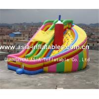 Wholesale Commercial Inflatable Twister Slide Games For Kids from china suppliers