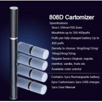 Wholesale 808D Double Battery Kit Disposable E Cigarette Smoking Pipes 300 - 500 Puffs from china suppliers