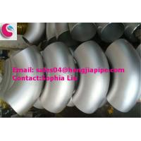 Wholesale export galvanized butt welded elbow from china suppliers
