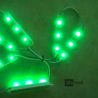 Quality Green LED backlight module string DC12V in 67*09mm shell for sale