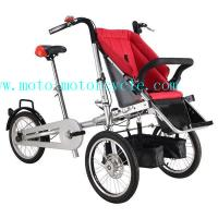 Wholesale Red Baby Stroller Bike With Disk Brakes On Both Wheels from china suppliers