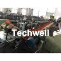 Wholesale Octagonal , Octagon Pipe Roll Forming Machine for Rolling Shutter Axes With Manual Decoiler / Uncoiler from china suppliers