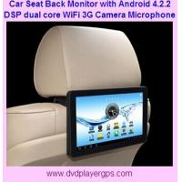 Wholesale car back seat monitor with Wifi,3G Function,FM transmitter,Capacitive Touch Screen from china suppliers