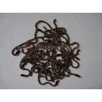 Wholesale Faux antique brass ball chain, bead chain, fastener, accessory from china suppliers