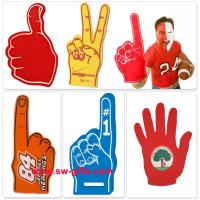 Wholesale Custom Made Finger Match Fan EVA Foam Hand Finger Cheering Promotional Wewing Eva from china suppliers