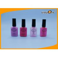 Wholesale Flat shape 20ml PET Plastic Nail Polish Bottle With Custom Logo Printing from china suppliers