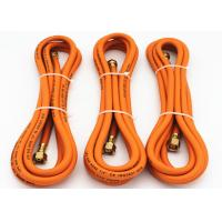 "Wholesale 1/4"" Inch Flexible Propane Gas Hose , flexible gas hose Orange Color from china suppliers"