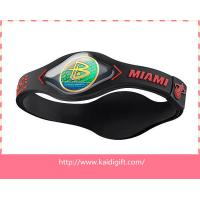 Wholesale 3D Healthy Power Energy Silicone Bracelet from china suppliers